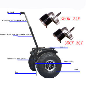 China 350w 36v brush dc motor for elderly scooter china for Dc motor brushes function