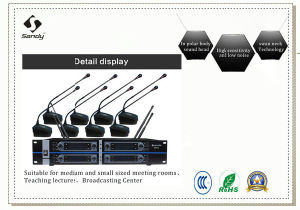 Meeting Microphone UHF Cordless Conference Microphone From China Supplier pictures & photos