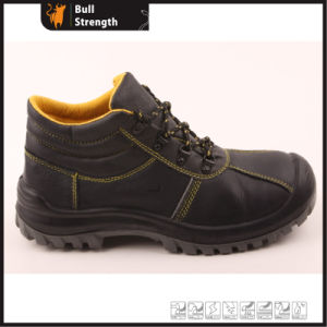 Genuine Leather Ankle Industrial Safety Shoe with Steel Toe (SN5268) pictures & photos