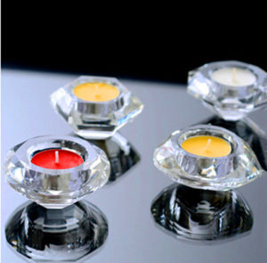 High Quality Crystal Candleholder Tealight Lighting pictures & photos