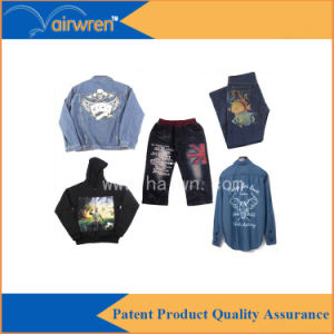 High Speed Flatbed Digital Textile Printer for Printed T-Shirt pictures & photos