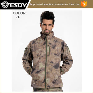 Esdy Softshell Outdoor Waterproof Windproof Coat Military Tactical Commander Jacket pictures & photos