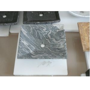 Natural Stone Sink China Juparana with High Quality pictures & photos