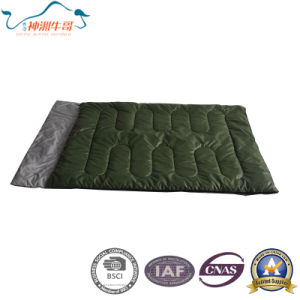 3 Season Double Sleeping Bag for Adult pictures & photos