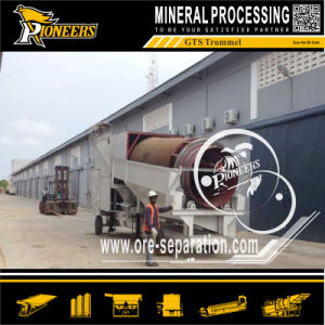 Alluvial Gold Mining Equipment Vibrating Screen Mobile Washing Trommel Plant