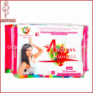 High Quality Winged Women Sanitaries Napkin for Ladies Pads pictures & photos