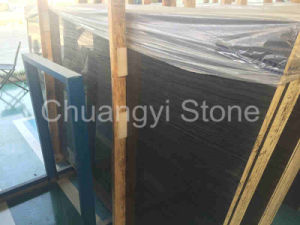 Black Wooden Marble Granite