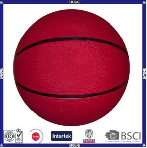 Rubber Basketball with Customized Logo&Color pictures & photos