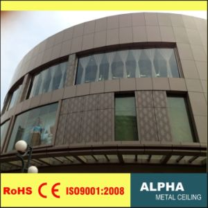 Aluminum Metal Wall Panels Facades pictures & photos