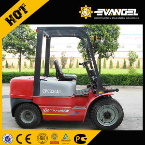 Battery Power Four-Wheel Counterbalanced Electric Forklift pictures & photos