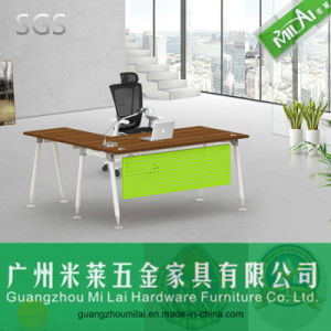 Best Quality Steel Leg Office & Home Furniture with Cabinet pictures & photos