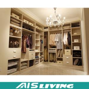 Custom Wooden Bedroom Wardrobe Closet (AIS-W183)