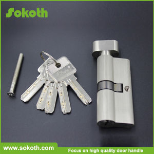 Solid All Brass 70mm Single Open Cylinder Lock Skt-C11 pictures & photos