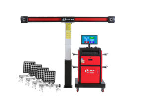 Fast Reliable 4 Wheel 3D Aligment with Automatic Tracking Machine