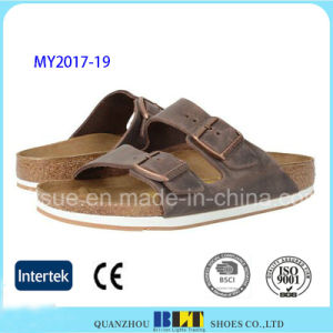 New Arrival Hot Bech Casual Cork Slippers pictures & photos