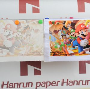 Low Cost 50g Sublimation Transfer Paper Roll for Polyester Fabric Transfer pictures & photos