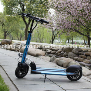 Two Wheels Lithium Battery Adult Fodable Electric Scooter pictures & photos