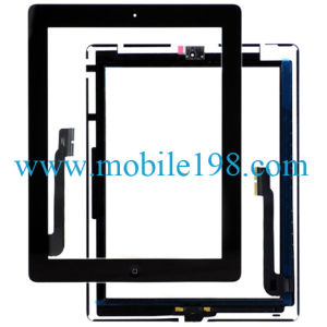 OEM Touch Screen Digitizer for iPad 4 Black Replacement Parts pictures & photos