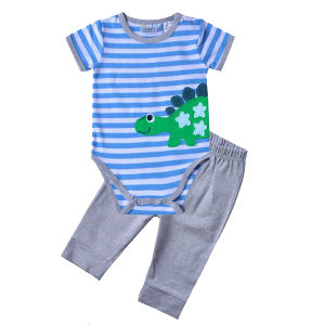 Great Quality Pure Cotton 0-24m Unisex Kids Clothes pictures & photos