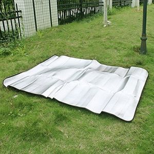 Carries Silver Color Aluminum Foil Mat Tent Footprint Waterproof Sleeping Pads pictures & photos