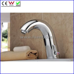 Fyeer Single Handle Automatic Sensor Faucet Mixer (QH0114BA) pictures & photos