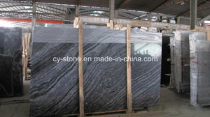 Building Material Chinese Slabs Antique/Black Wooden Marble for Floor/Wall