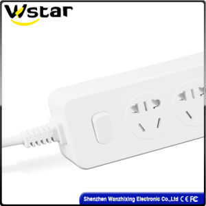 Us Plug 250V 10A Electric Extension Socket Outlet pictures & photos