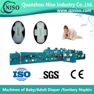 Specialized Frequency Sanitary Napkin Making Machine (HY-600) pictures & photos