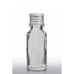 15ml Flint Glass Cosmetic Serum Dropper Bottle Aluminum Cap pictures & photos