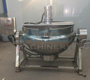 Electric Heating Big Jacketed Kettle with Mixer 50-1000L pictures & photos