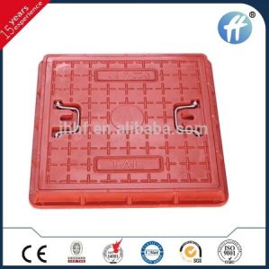 En124 B125 500X500 DMC Square Composite Manhole