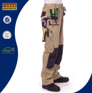 Multi Functional Pockets Duratex Cotton Khaki Cargo Pants pictures & photos