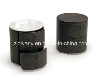 Modern Wood Marble Nightstand (SM-B21) pictures & photos