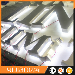 Customized 3D Advertising Metal Backlit Channel Letter Sign Color Optional pictures & photos