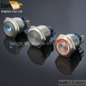 Langir Waterproof Push Button Switch (L16, L19, L22, L25, L30) pictures & photos