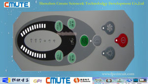 0.2mm PC & SUS 301 Metal Dome Music System Control Device Membrane Switch Keypad pictures & photos