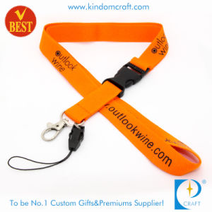 Custom High Quality Cheap Polyester Printed Card Lanyard pictures & photos