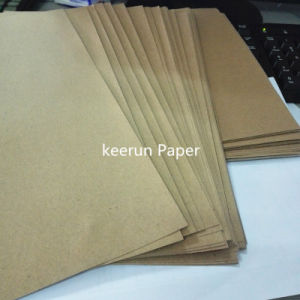 Kraft Paper High Quality Carton Box Surface Paper Kraft Board pictures & photos