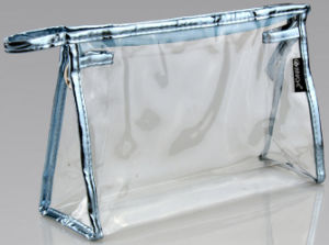Cheap Transparent Clear PVC Cosmetic Makeup Toiletry Bag pictures & photos