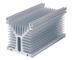 Aluminum Extruded High Power Heat Sinks