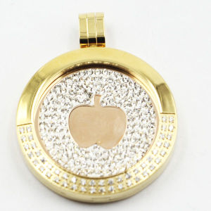 Hot Selling Stainless Steel Locket Pendant Fashion Jewelry pictures & photos