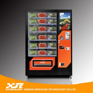 Fruit/Salad Vending Machine with Elevator Device (Spring Delivery /Belt Conveyor) pictures & photos