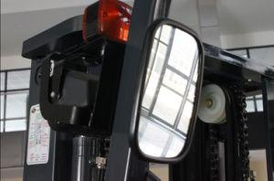 Un 1.3t 1300kg Stand-on Reach Truck with Triplex 7.0m Mast (FBR13-AZ1) pictures & photos
