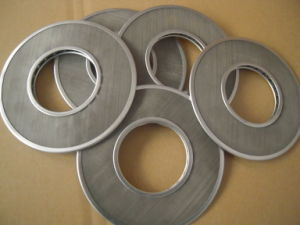 SUS304 Stainless Steel Multilayers Ring Type Wire Mesh Screen Filter Screen/Discs/Packs pictures & photos