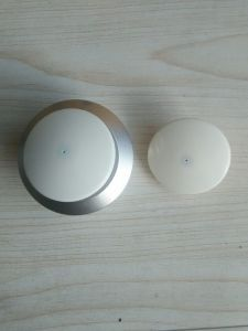 EAS High Quality Plastic ABS Round Security RF Tag pictures & photos