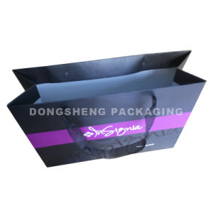 Brande Paper Packaging Bag with Ribbon for Garment, Shoes, Sunglasses Made in China pictures & photos