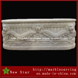 Hunan White Marble Bath Tub pictures & photos
