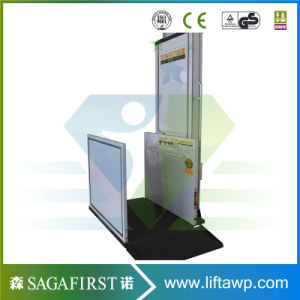 2.5m Outdoors Domestic Wheelchair Lift Table Residential Elevators pictures & photos