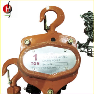 Top Quanity CE Certificate Manual Chain Hoist pictures & photos
