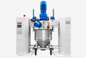 300L PLC Controlled Powder Coatings Container Mixer pictures & photos